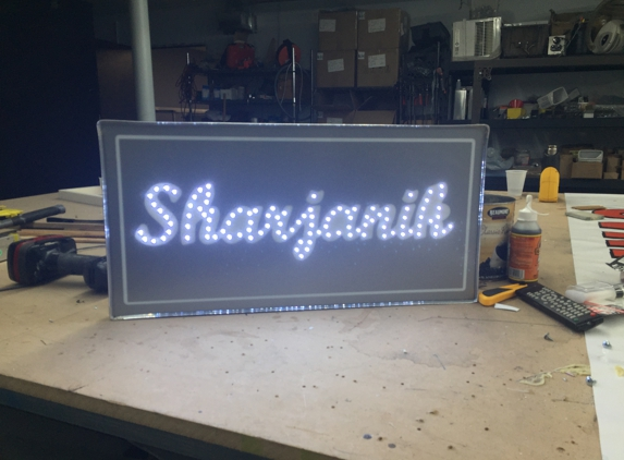 Spectacular Signs - Westland, MI. Custom LED Pixel sign