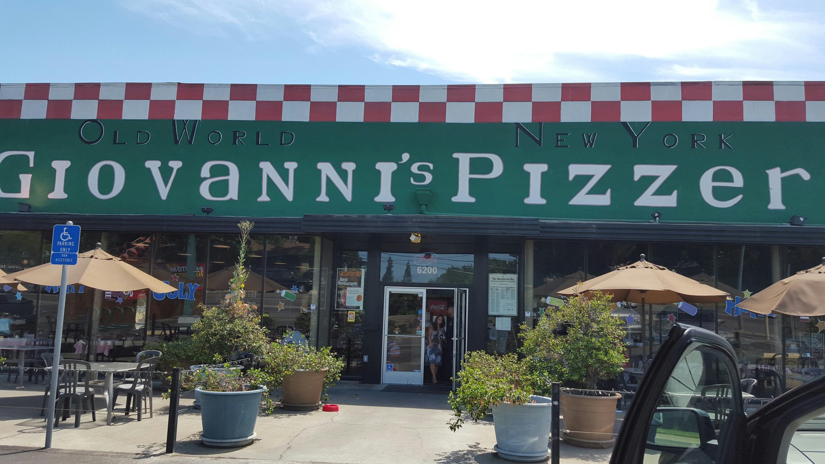 Giovanni S Old World New York Pizzeria 6200 Folsom Blvd