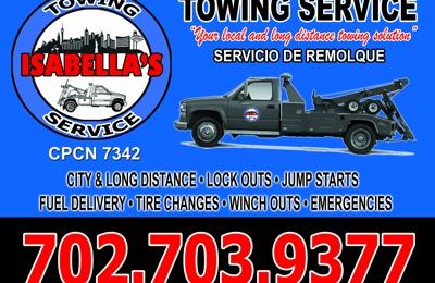Isabella's Towing Service - Las Vegas, NV
