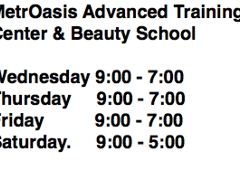 MetrOasis Advanced Training Center & Beauty School - Anchorage, AK