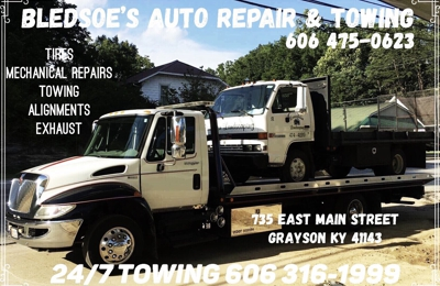 Bledsoe Auto Repair and Towing - Grayson, KY