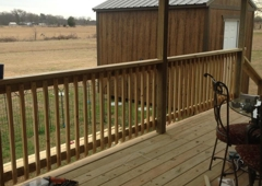 Down Home Fence and Deck - Irving, TX. My beautiful new back porch!