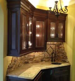 Ordinaire Adamu0027s Custom Cabinets   Danville, VA. Wet Bar