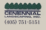 Centennial Landscaping, Inc. Logo and Phone Number
