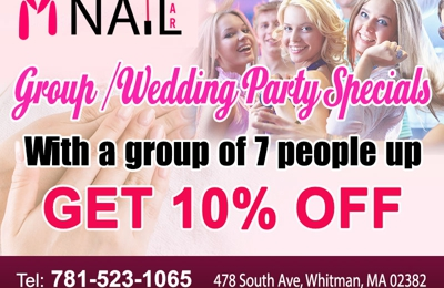 M Nail Bar Inc - Whitman, MA