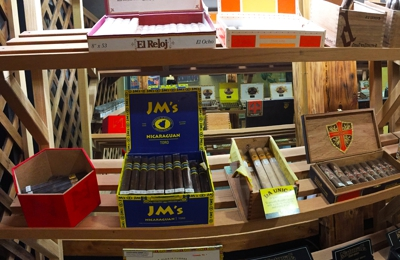 5th Avenue Cigars - Anchorage, AK. The humidor. Alaska's largest walk-in customer humidor.