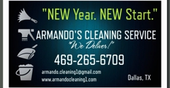 Armando's Cleaning Service - Dallas, TX. NEW Year, NEW Start. CLEAN Home!