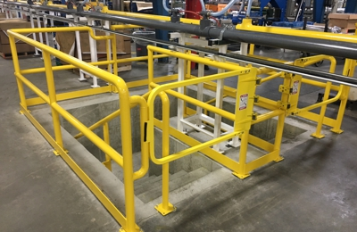 Dynamic Fabrication - Evansville, IN. Guard Railing
