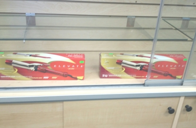 M & M Beauty Supply Inc - Merrillville, IN. There were 3 more irons available in the case, but the owner mandated that I contact the manufacturer for a defective iron purchased 2 days
