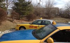 Lucky cab