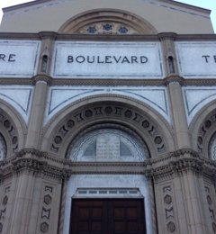Wilshire Boulevard Temple - Los Angeles, CA. Wilshire entrance