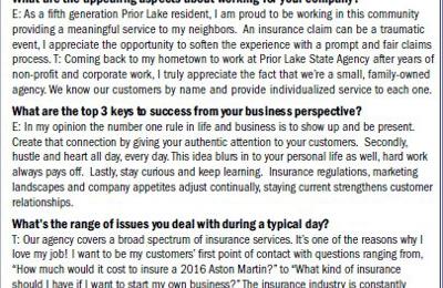 Prior Lake State Agency - Prior Lake, MN