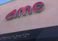 AMC Theaters - Santa Monica, CA. Sign on side of building
