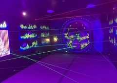 Max Adventures - Brooklyn, NY. Kids party place. Laser Maze