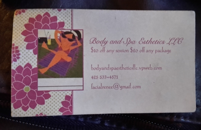 Body & Spa Esthetics LLC - Kirkland, WA