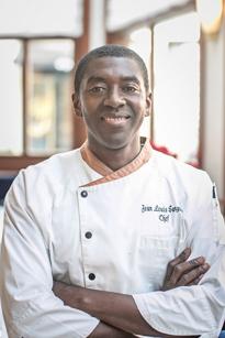 Chef Jean Louis Sangare at Bibloquet in Atlanta, GA