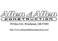 Allen & Allen Construction Inc. - Winchester, OR