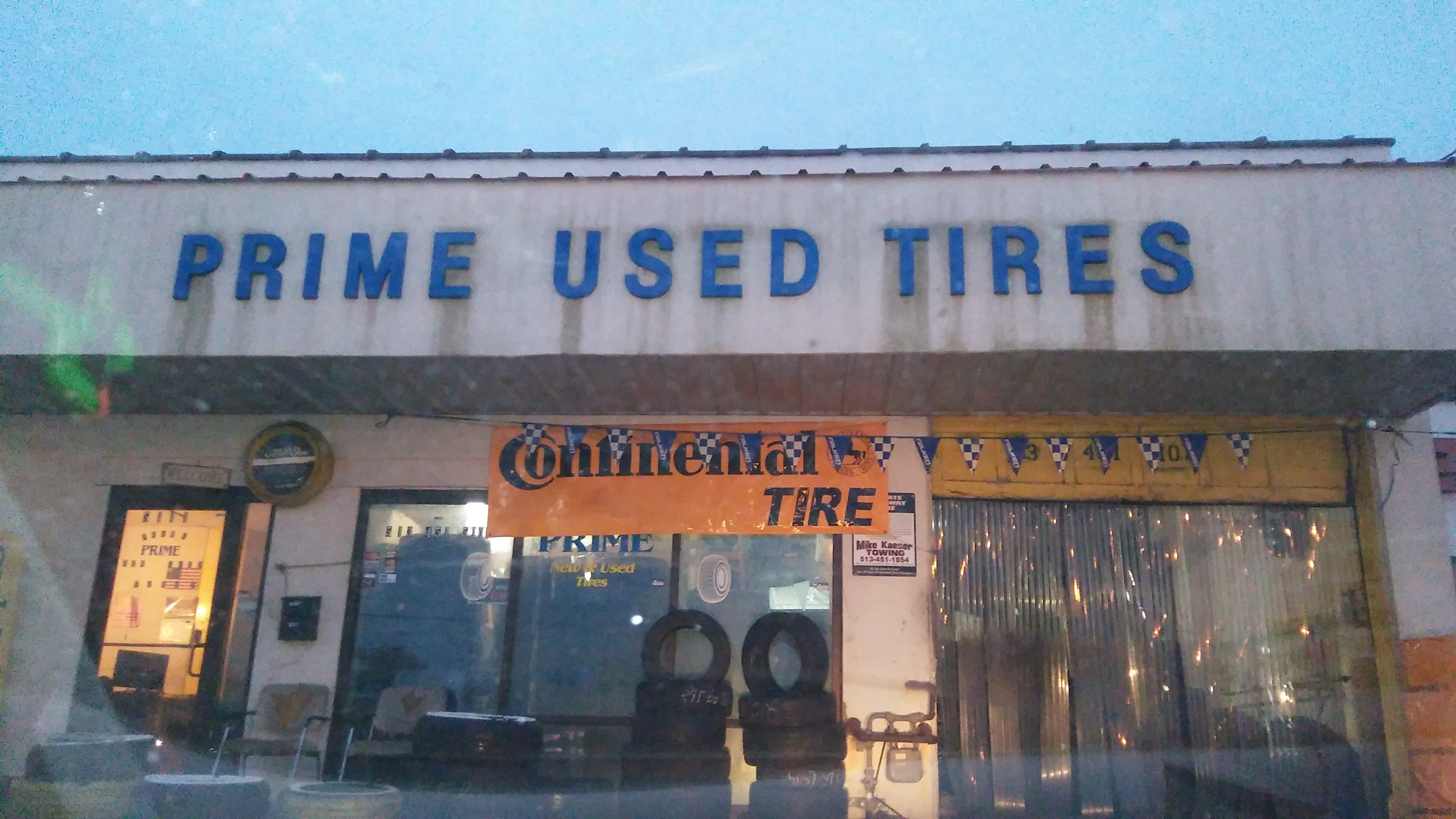 Prime Used Tire 5111 Crookshank Rd Cincinnati Oh 45238 Yp Com