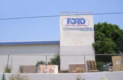Ford Printing & Mailing - Baldwin Park, CA