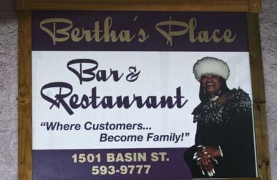 Bertha's Place Bar & Restaurant - New Orleans, LA