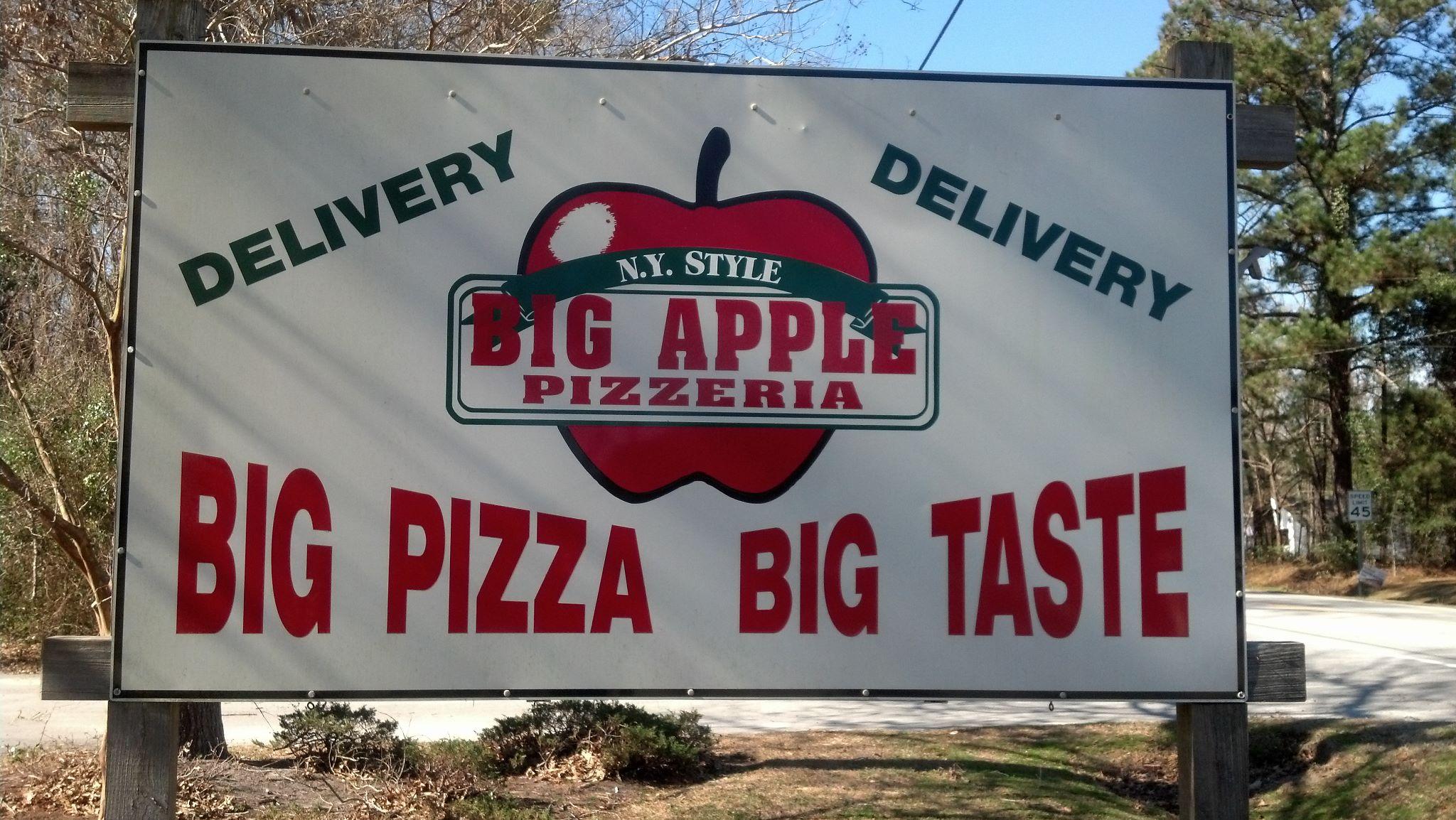 Big Apple Pizzeria, New Bern NC