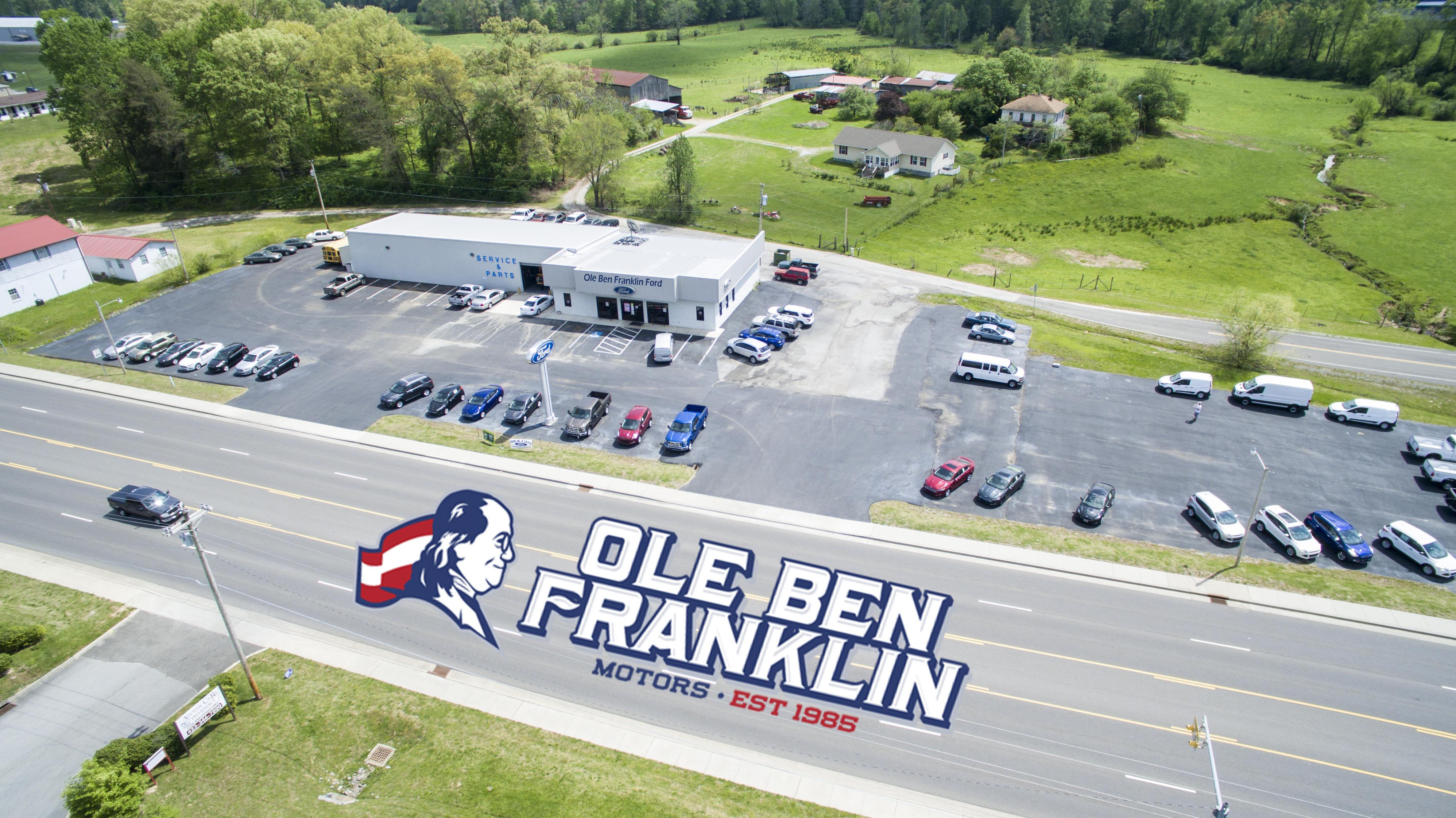 Ole ben franklin ford 1226 knoxville hwy wartburg tn for Ben franklin motors knoxville tn