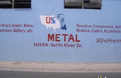 US Metals Corp 3333 NW North River Dr Miami FL 33142