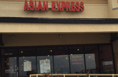Asian Express - Hiram, GA. Lot view
