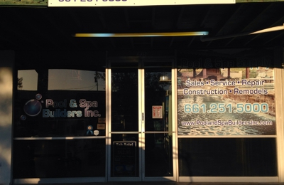 Pool and Spa Builders Inc - Sylmar, CA. Store front