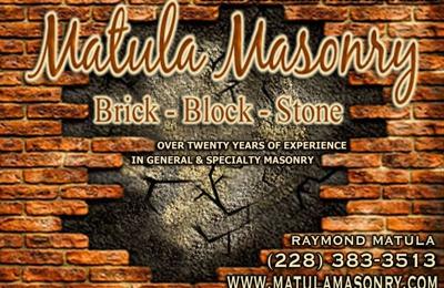Matula Masonry - Gulfport, MS