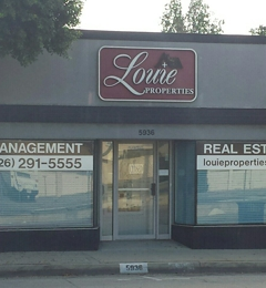 Louie Properties Inc - Temple City, CA. Outside