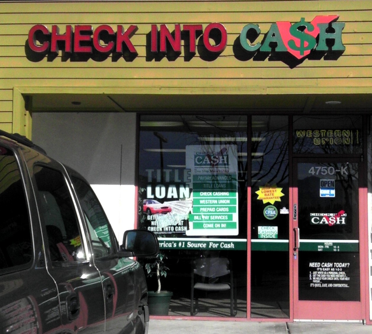 Cash advance fees in dts image 2