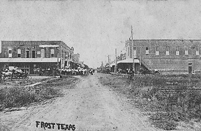 City Of Frost - Frost, TX. My grandmother had this photo among her things and I thought I would share it with you...