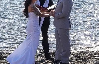 Celtic Ministries - Wasilla, AK. Wedding at Eklutna Lake
