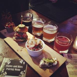 Beer Flight at Taproom No. 307 in New York, NY