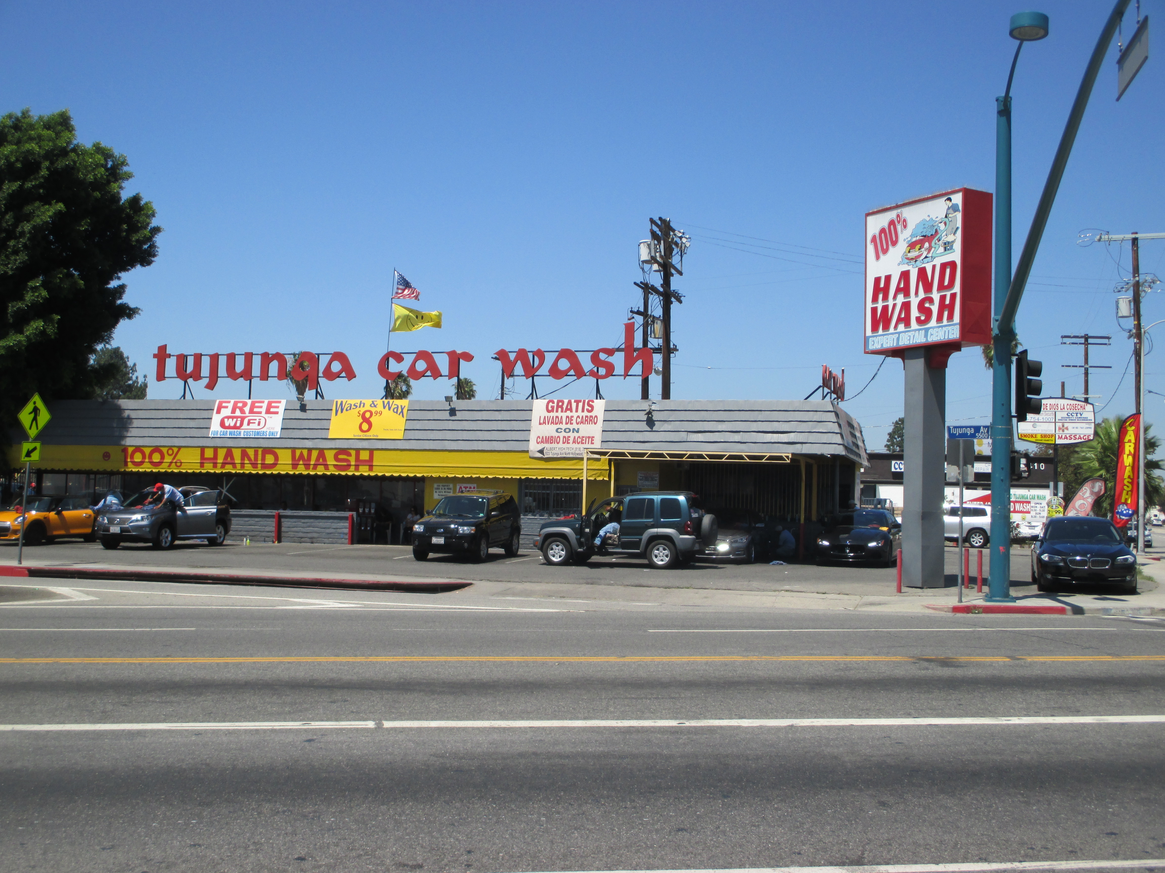 Tujunga Car Wash North Hollywood Ca