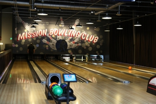 Lanes at Mission Bowling Club