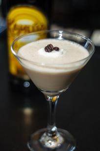 Recipe for the Chic Espresso Martini at the Terrace Bistro at The Ellis Hotel in Atlanta, GA