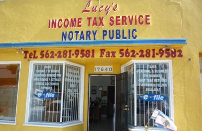 Lucys Income Tax Service - Bellflower, CA