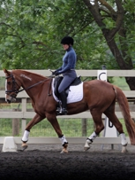 Demo riding at L Program (Donna/Lilly)