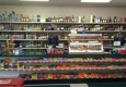G & D Pizza - Cadillac, MI. They are a full party store. Beer, wine, liquor and mixes.