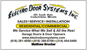 Logo Services/Products Replacement Garage Doors|Doors|Garage Doors|Composite Garage Doors|Roll-Up Garage Doors|Garage Door Windows|Auto Reverse \u0026 Infrared ...  sc 1 st  Yellow Pages & Electro Door Systems Inc 610 S Main St Columbia IL 62236 - YP.com