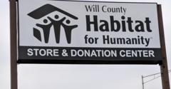 Habitat for Humanity - Joliet, IL. Sign
