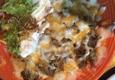 Hacienda Del Lago - Tahoe City, CA. Beef nachos!  Loaded with toppings!
