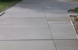 Another nice driveway by Stamper Concrete!!!