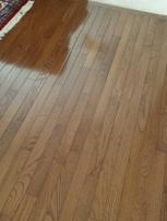 Hard Wood Floors Cleaned
