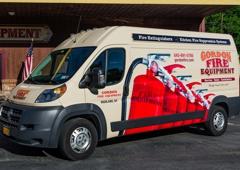 Gordon Fire Equipment LLC - Highland, NY. Fire Extinguisher service vans.