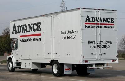 Advance Moving U0026 Storage   Iowa City, ...
