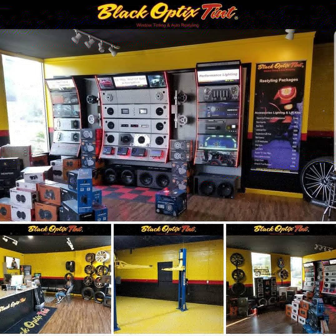 Black Optix Tint 900a Highway 501 Myrtle Beach Sc 29577