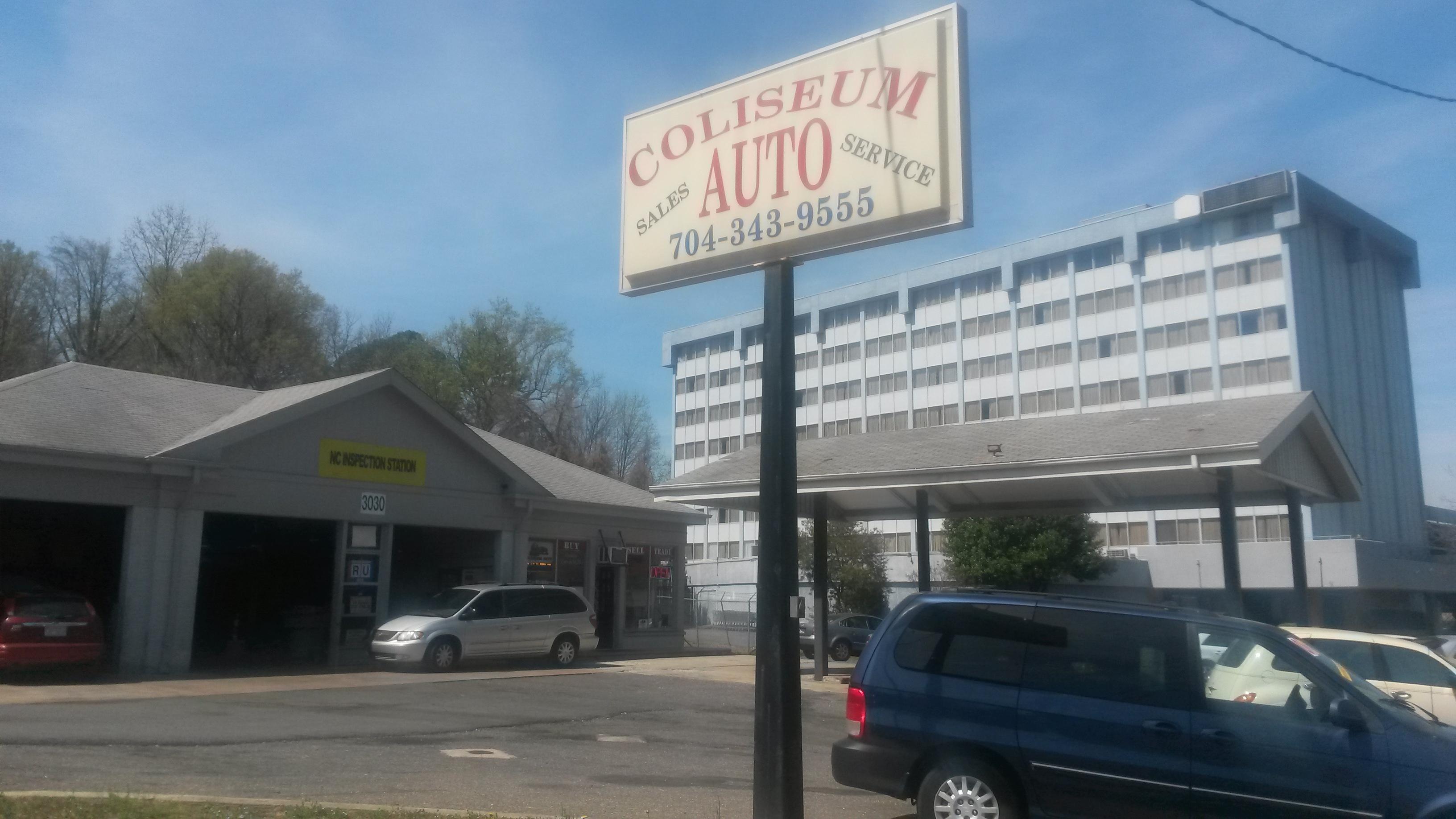 Coliseum Auto Sales & Service 3030 E Independence Blvd Charlotte